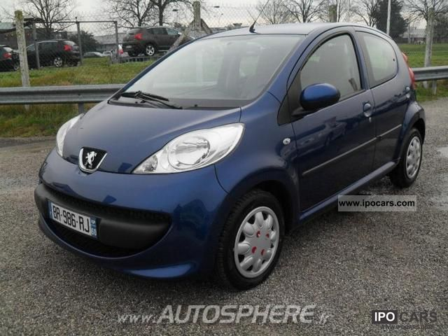 2005 peugeot 107 1 4 hdi trendy 5p car photo and specs. Black Bedroom Furniture Sets. Home Design Ideas