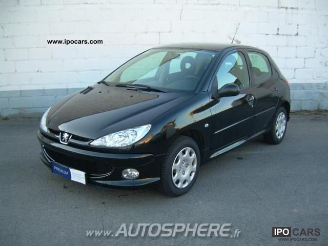 2008 peugeot 206 1 4 hdi trendy 5p car photo and specs. Black Bedroom Furniture Sets. Home Design Ideas