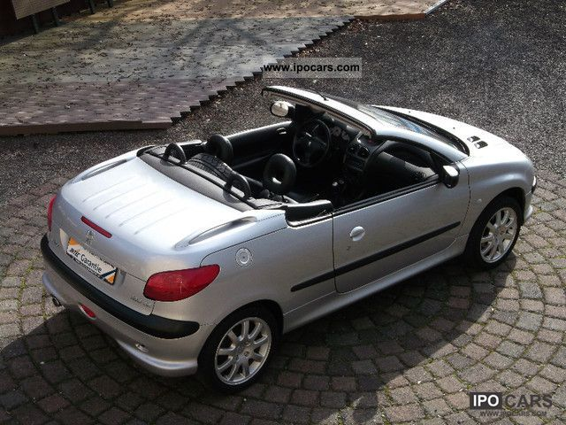 2002 peugeot 206 cc 135 platinum only car photo. Black Bedroom Furniture Sets. Home Design Ideas