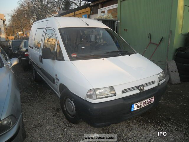 1997 Peugeot  Expert B5C5 standard Van / Minibus Used vehicle photo