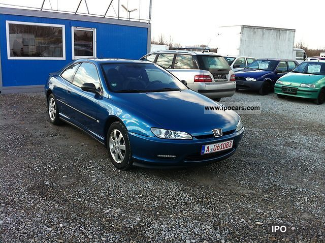 2002 peugeot 406 coupe hdi green badge car photo and specs. Black Bedroom Furniture Sets. Home Design Ideas