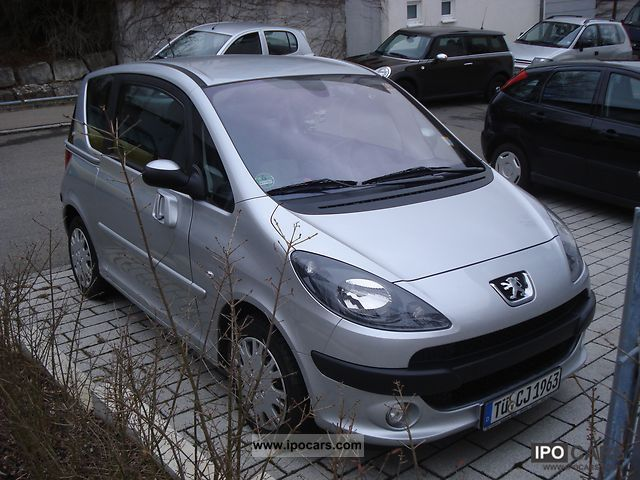 2008 peugeot 1007 110 sport 2 tronic car photo and specs. Black Bedroom Furniture Sets. Home Design Ideas