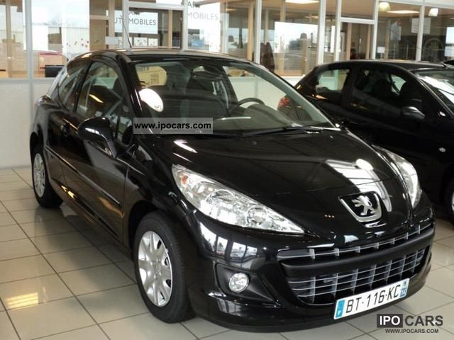 2011 peugeot 207 1 4 vti active 3p car photo and specs. Black Bedroom Furniture Sets. Home Design Ideas
