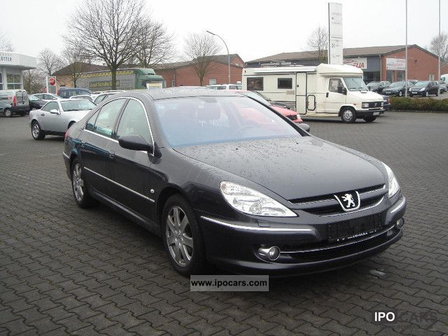 2006 Peugeot  607 V6 HDI 205 Sport Limousine Used vehicle photo