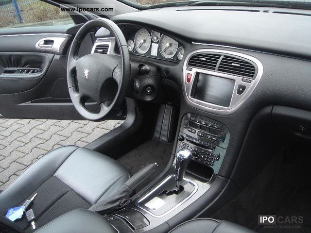 2006 peugeot 607 v6 hdi 205 sport - car photo and specs