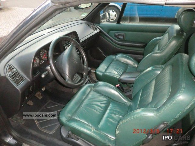 Gearbox Oil Change >> 1996 Peugeot 306 Cabriolet 1.8 - Car Photo and Specs