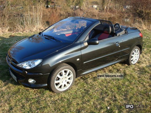 2007 peugeot 206 cc hdi fap 110 platinum car photo and specs. Black Bedroom Furniture Sets. Home Design Ideas
