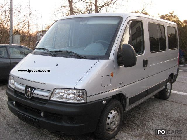 2005 Peugeot Boxer Hdi 330 Mh Car Photo And Specs