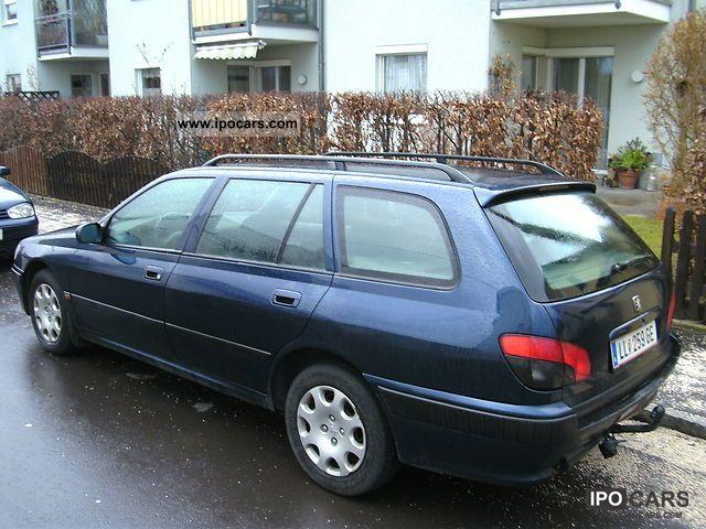 1998 Peugeot 406 Break Sv Dt Car Photo And Specs