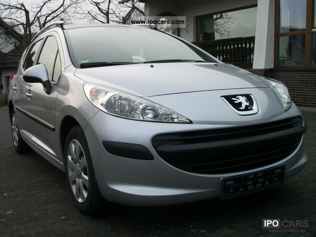 2008 peugeot 207 sw 75 tendance car photo and specs. Black Bedroom Furniture Sets. Home Design Ideas