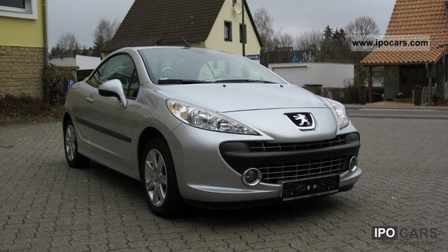 2007 peugeot 207 cc 120 vti sport car photo and specs. Black Bedroom Furniture Sets. Home Design Ideas