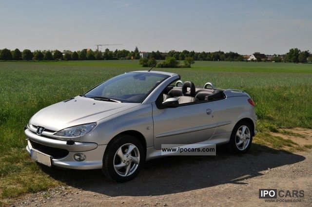2007 peugeot 206 cc 110 platinum car photo and specs. Black Bedroom Furniture Sets. Home Design Ideas