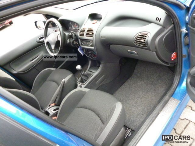 2006 peugeot 206 sw hdi 110 jbl air conditioning car photo and specs. Black Bedroom Furniture Sets. Home Design Ideas