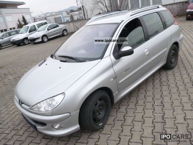 2005 peugeot 206 sw hdi 110 quiksilver klimaautomatic car photo and specs. Black Bedroom Furniture Sets. Home Design Ideas