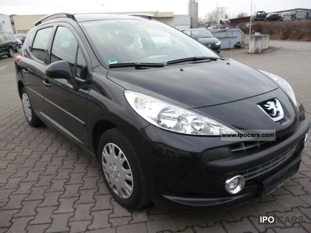 2008 peugeot 207 sw 95 vti sport air apc car photo and specs. Black Bedroom Furniture Sets. Home Design Ideas