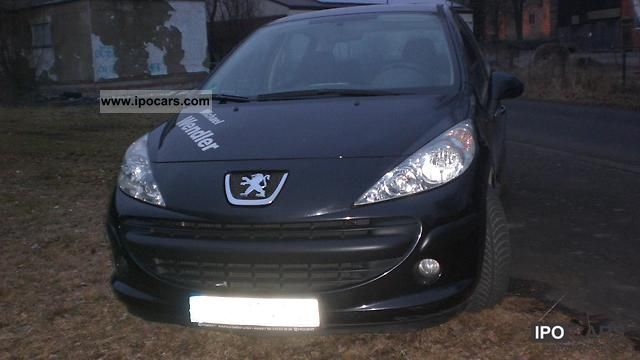2006 peugeot 207 110 hdi fap tendance car photo and specs. Black Bedroom Furniture Sets. Home Design Ideas