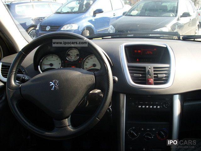 2006 peugeot 207 110 hdi fap blue lion sports car. Black Bedroom Furniture Sets. Home Design Ideas