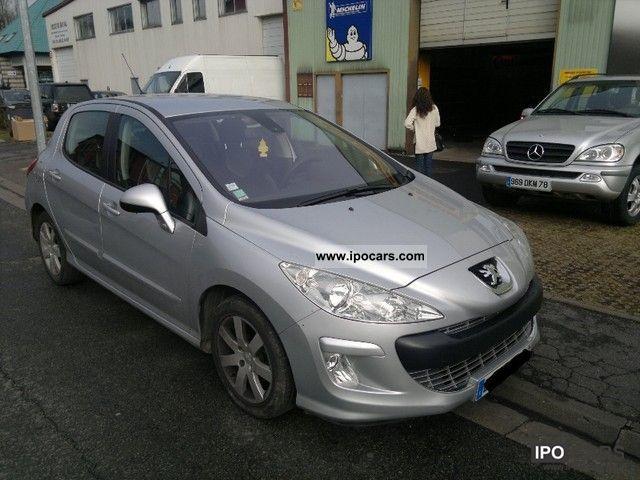 2008 Peugeot  308 1.6 HDI 110 KM 94 tys km Small Car Used vehicle photo