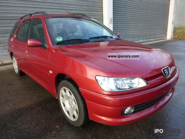 2001 Peugeot  1.6 LITER 306 * BREAK * PREMIUM * AIR * EURO 3 * 1 * HAND Estate Car Used vehicle photo