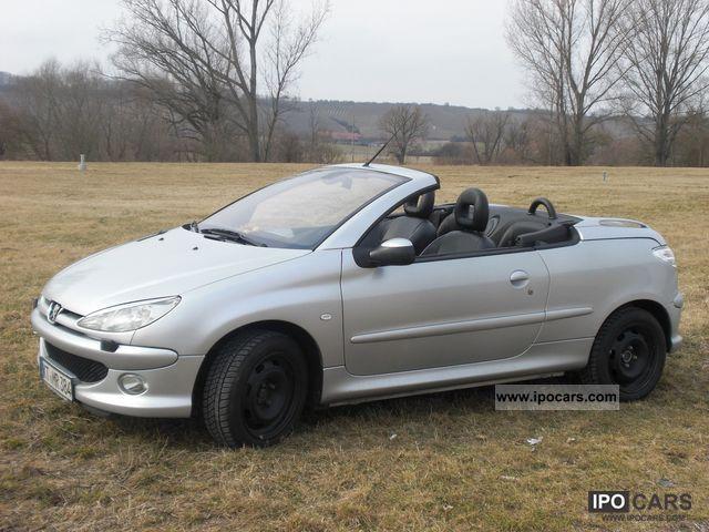 2004 Peugeot 206 Cc 135 Platinum Car Photo And Specs