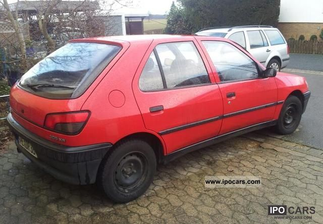 1993 peugeot 306 xn - car photo and specs