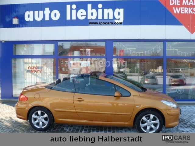 2006 Peugeot  307 CC 140 Tendance, leather, climate, 1.Hd, Winterräd Cabrio / roadster Used vehicle photo