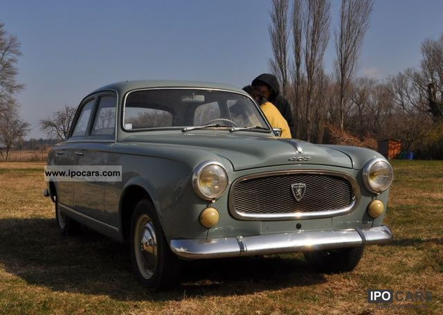 Peugeot  403/7 1960 Vintage, Classic and Old Cars photo