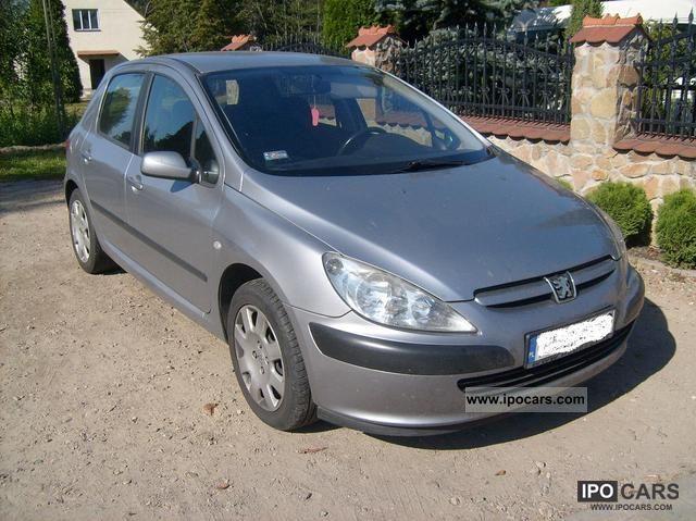 2001 Peugeot  Platinum 307 HDi 110 Limousine Used vehicle photo