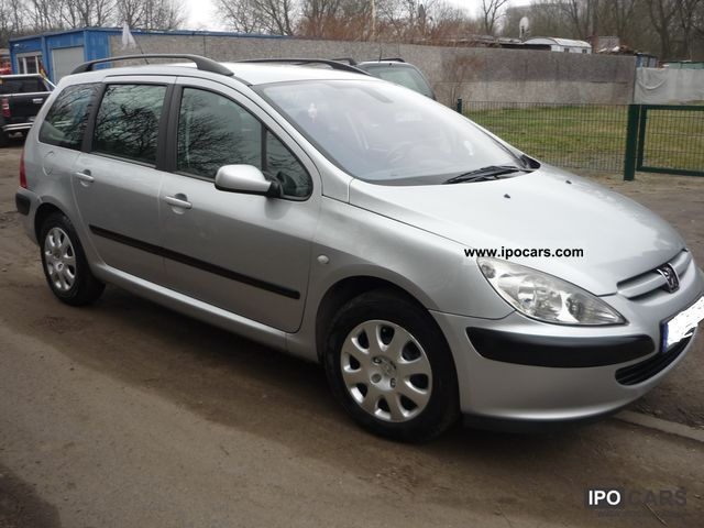 2003 peugeot 307 f car photo and specs. Black Bedroom Furniture Sets. Home Design Ideas