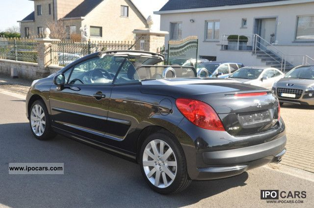 2009 peugeot 207 cc sport pack 120 car photo and specs. Black Bedroom Furniture Sets. Home Design Ideas
