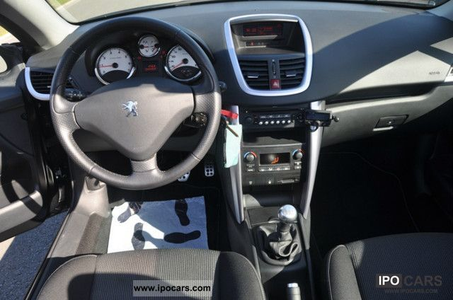 2009 peugeot 207 cc sport pack 120 car photo and specs