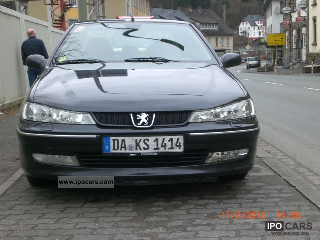 2001 peugeot 406 hdi premium car photo and specs. Black Bedroom Furniture Sets. Home Design Ideas