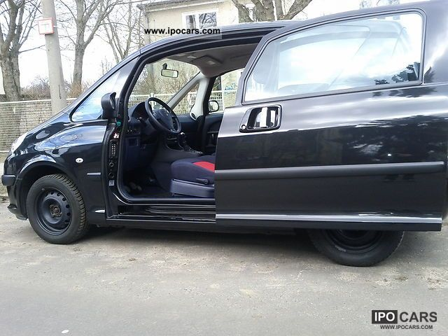 2006 peugeot 1007 75 filou car photo and specs. Black Bedroom Furniture Sets. Home Design Ideas
