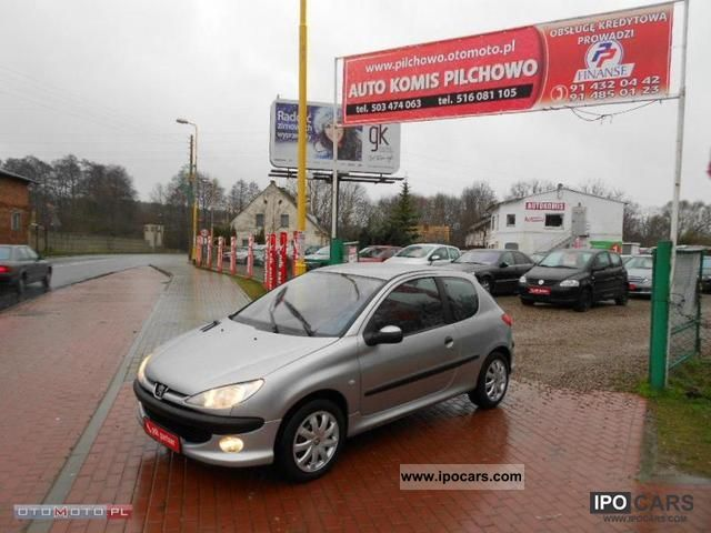 2001 Peugeot  206 HDI LIMITED, BEZWYPADEK, SUPER! Small Car Used vehicle photo