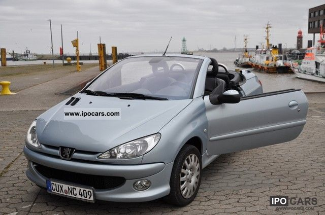 2006 peugeot 206 cc 135 platinum car photo and specs. Black Bedroom Furniture Sets. Home Design Ideas
