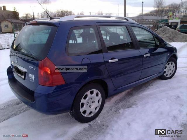 peugeot 307 owners manual 2005