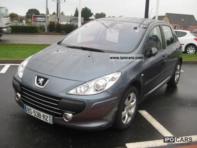 2007 Peugeot  307 2.0 Executive HDi136 Pack FAP 5p Limousine Used vehicle photo