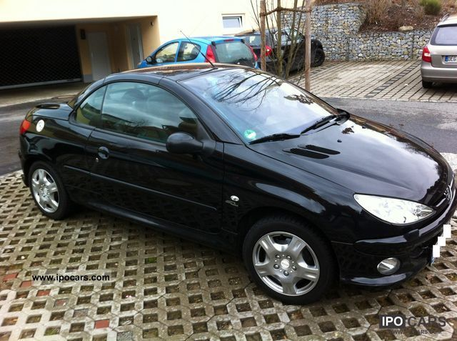 2006 peugeot 206 cc 110 car photo and specs. Black Bedroom Furniture Sets. Home Design Ideas