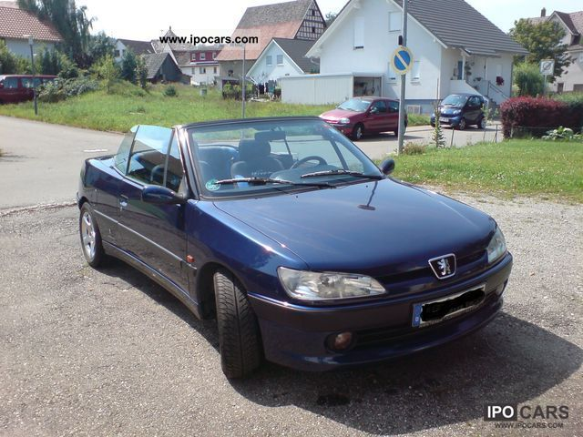 1997 Peugeot 306 Cabriolet 2 0 Car Photo And Specs