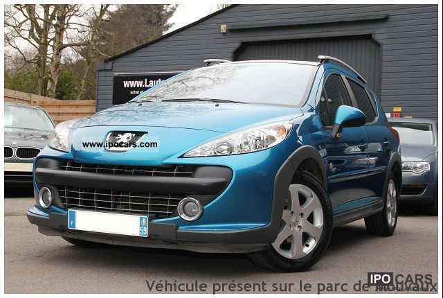 2008 peugeot 207 2 sw 1 6 vti 120 premium outdoor car photo and specs. Black Bedroom Furniture Sets. Home Design Ideas