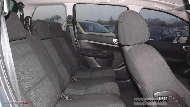 2005 peugeot 307 sw 2 0 hdi 110 km panoramic roof car photo and specs. Black Bedroom Furniture Sets. Home Design Ideas