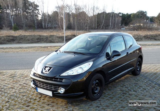 2009 peugeot 207 95 vti sport car photo and specs. Black Bedroom Furniture Sets. Home Design Ideas