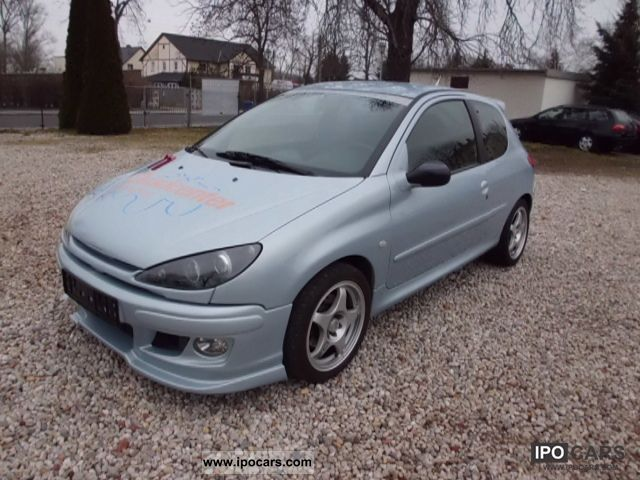 2002 Peugeot  206 110 6.1 Euro3 checkbook Small Car Used vehicle (business photo