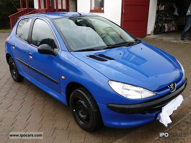 2000 peugeot 206 75 car photo and specs. Black Bedroom Furniture Sets. Home Design Ideas