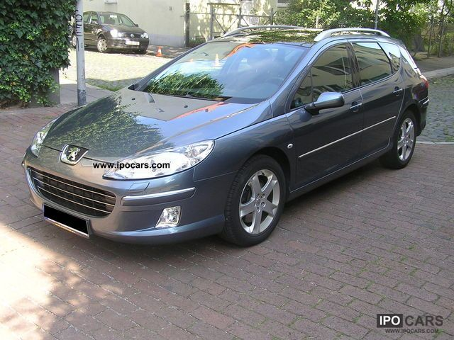 2008 Peugeot  407 SW 165 automatic Xenon Platinum Leather Estate Car Used vehicle photo