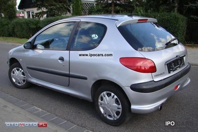 2002 peugeot 206 1 4 sport air zadbany car photo and specs. Black Bedroom Furniture Sets. Home Design Ideas