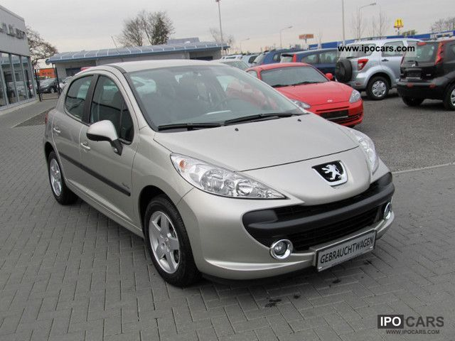 2008 peugeot 207 95 vti urban move 10000km air aluminum top car photo and specs. Black Bedroom Furniture Sets. Home Design Ideas