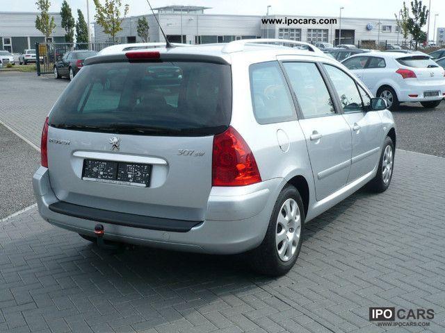 2006 peugeot 307 110 premium 1 hd ahk glasdach car. Black Bedroom Furniture Sets. Home Design Ideas