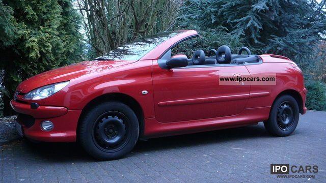 2006 peugeot 206 cc hdi fap 110 car photo and specs. Black Bedroom Furniture Sets. Home Design Ideas