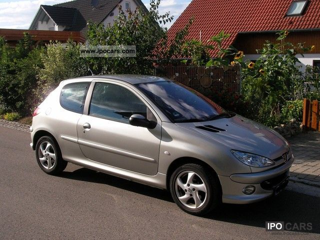 2005 peugeot 206 hdi 110 car photo and specs. Black Bedroom Furniture Sets. Home Design Ideas